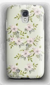 Pinkki kukka kuoret Galaxy S4