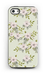 Pink flowers  case IPhone 5/5s tough