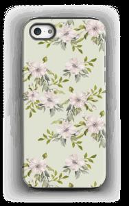 Rosa blomster deksel IPhone 5/5s tough
