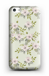 Pink flowers  case IPhone 5c