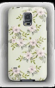 Rosa Blumen Handyhülle Galaxy S5