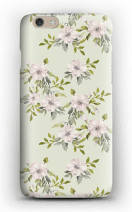 Pink flowers  case IPhone 6