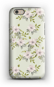 Pink flowers  case IPhone 6 tough