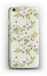 Pink flowers  case IPhone 6 Plus