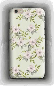 Rosa blomster deksel IPhone 6 Plus