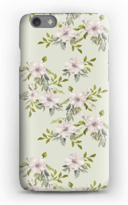 Pink flowers  case IPhone 6s