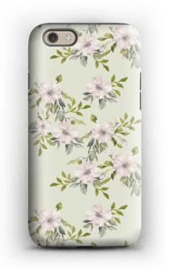 Pink flowers  case IPhone 6s tough