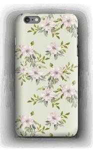 Pinkki kukka kuoret IPhone 6s Plus