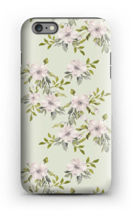 Pink flowers  case IPhone 6 Plus tough