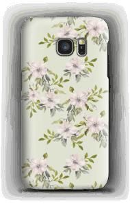 Rosa Blumen Handyhülle Galaxy S7