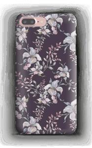 Flowers & purple case IPhone 7 Plus