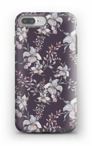 Flowers & purple case IPhone 7 Plus tough