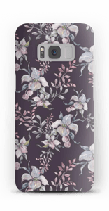 Purple & flowers case Galaxy S8