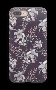 Flowers & purple case IPhone 8 Plus tough