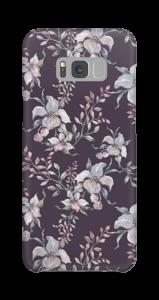 Flowers & purple case Galaxy S8 Plus