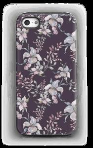 Lilla blomster deksel IPhone 5/5s tough