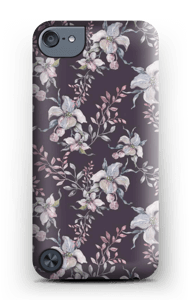 Flowers & purple case IPod Touch 5