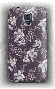 Lila Blumen Handyhülle Galaxy S5