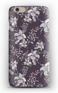 Flowers & purple case IPhone 6