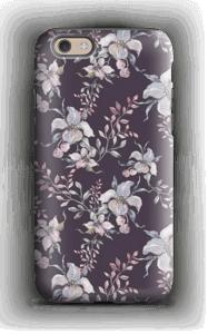 Flowers & purple case IPhone 6 tough