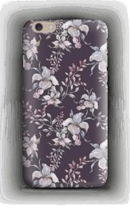 Violetti kukka kuoret IPhone 6 Plus