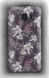 Lila Blumen Handyhülle Galaxy S6