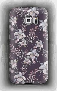 Lila Blumen Handyhülle Galaxy S6 Edge