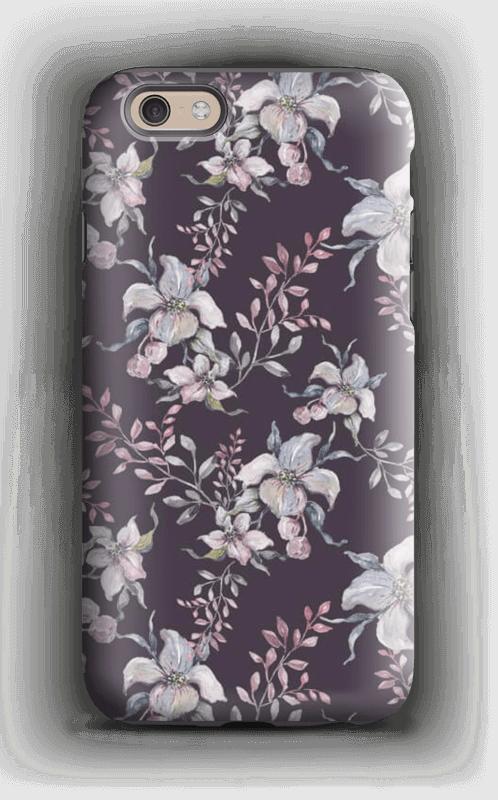 Flowers & purple case IPhone 6s tough
