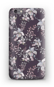 Blomster i lila skal IPhone 6s Plus
