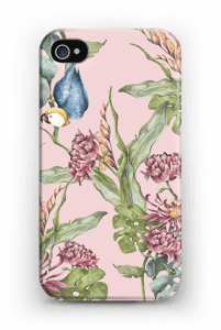 Parrot in nature case IPhone 4/4s