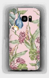 Papegaai in natuur hoesje Galaxy S7 Edge