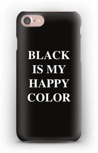 Black is my happy color deksel IPhone 7