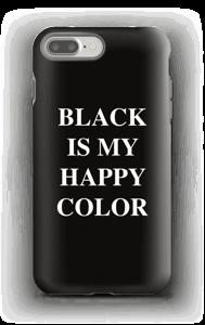 Black is my happy color case IPhone 7 Plus tough
