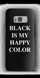Black is my happy color deksel Galaxy S8