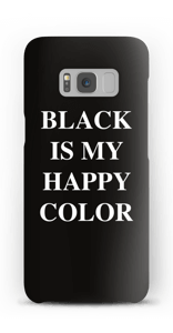 Black is my happy color kuoret Galaxy S8