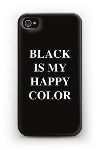 Black is my happy color kuoret IPhone 4/4s