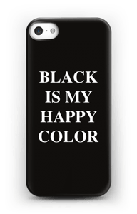 Black is my happy color deksel IPhone 5/5S