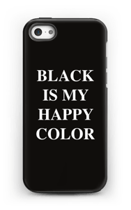Black is my happy color deksel IPhone 5/5s tough