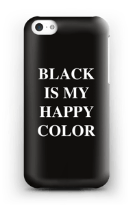 Black is my happy color kuoret IPhone 5c