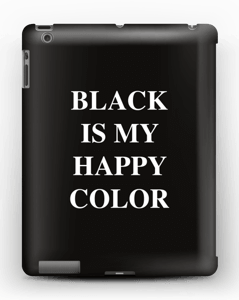 Black is my happy color kuoret IPad 4/3/2