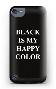 Black is my happy color deksel IPod Touch 5