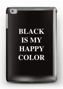 Black is my happy color deksel IPad mini 2