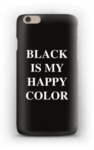 Black is my happy color deksel IPhone 6 Plus