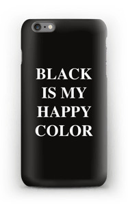 Black is my happy color kuoret IPhone 6s Plus