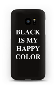 Black is my happy color kuoret Galaxy S7 Edge