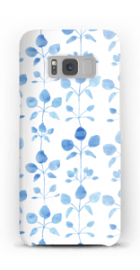 Blue flowers case Galaxy S8