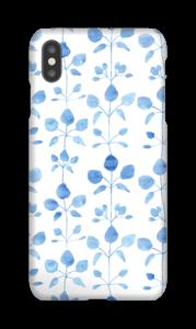 Flores Azules funda IPhone XS Max