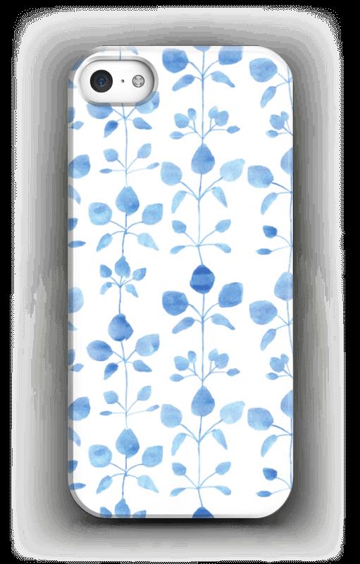 Fleurs bleues  Coque  IPhone 5/5S