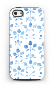Blue flowers case IPhone 5/5s tough