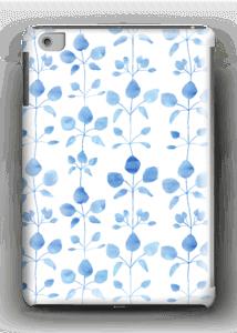 Blå blomster deksel IPad mini 2